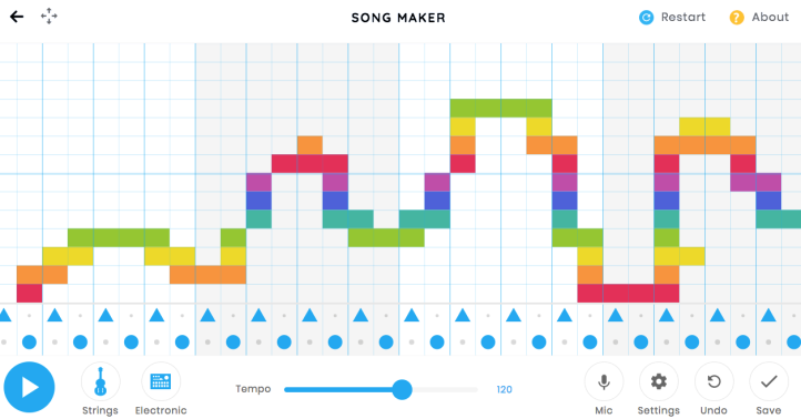 music song lab chrome making google experiment located